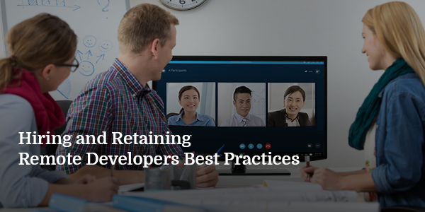 Hiring and Retaining Remote Developers Blog Banner