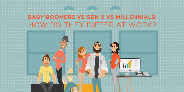Baby Boomers vs Gen X vs Millennials: How Do They Differ at Work?