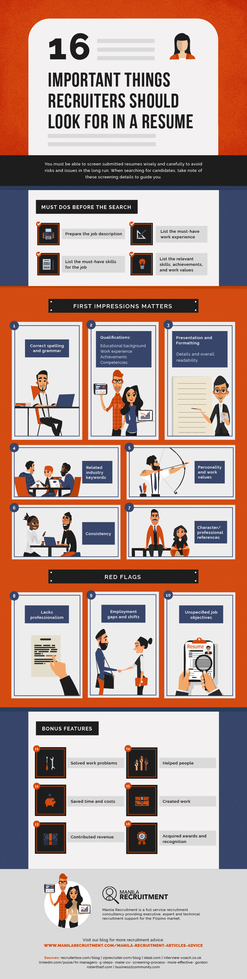 MR-What To Look For In A Resume-infographic