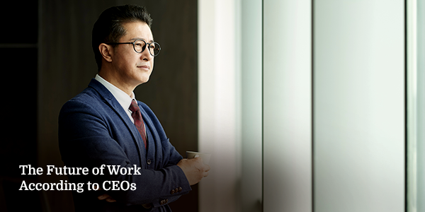 The Future of Work According to CEOs