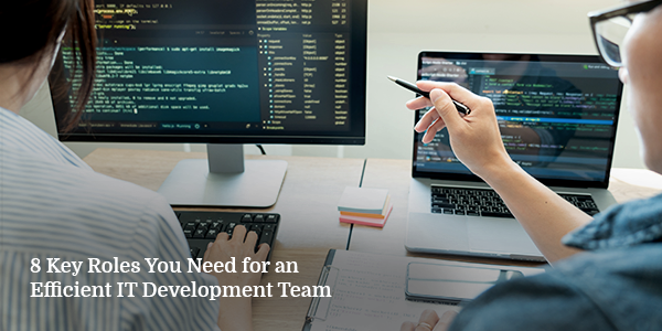 8 Key Roles You Need for an Efficient IT Development Team