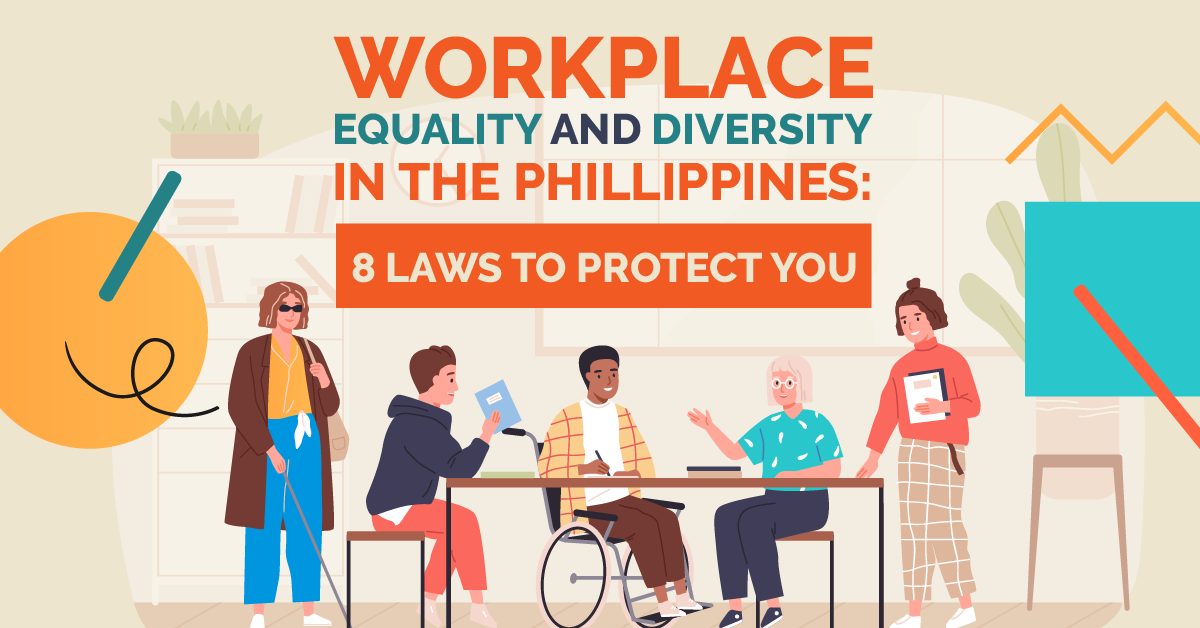 workplace equality and diversity in the philippines banner